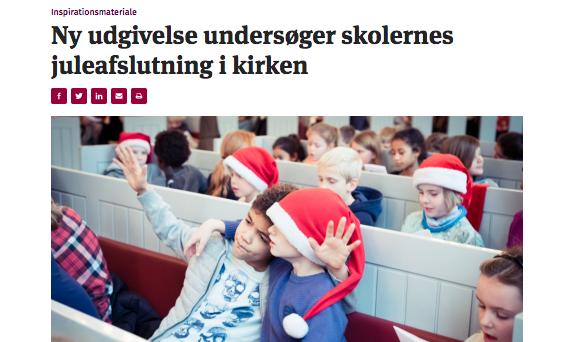 Børn til julegudstjeneste