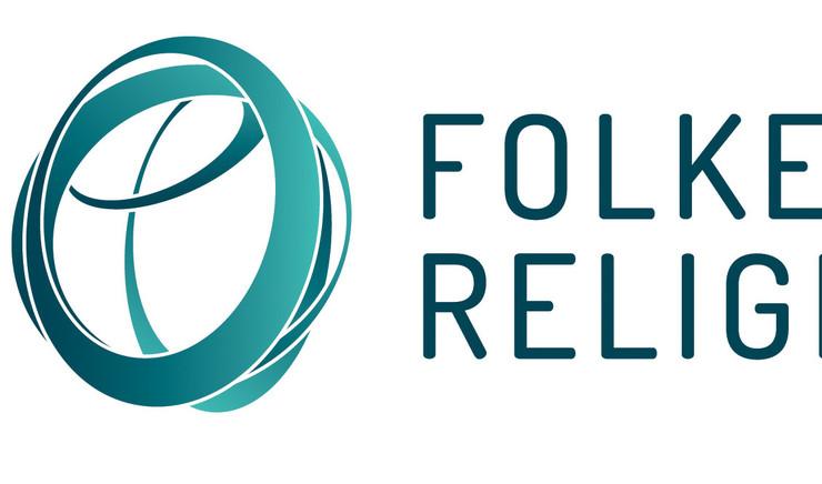 Folkekirke og Religionsmøde logo
