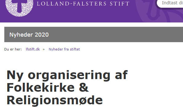 Ny organisering af F&R
