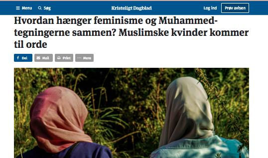 Muslimske kvinder kommer til orde